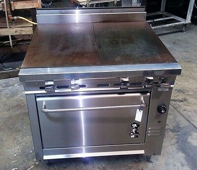 Montague Range Model 136-9ASE Even Heat Tops with Standard Oven
