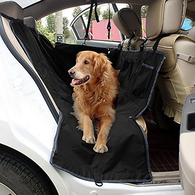 Poppypet Auto Rear Seat Protector Cover, Waterproof Hammock Seat Cover for Pets,