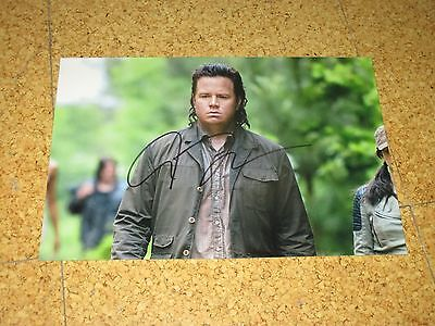 The Walking Dead JOSH McDERMITT Originalautogramm GROSSFOTO!