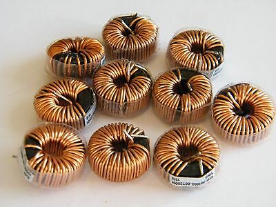 200uh inductors, lot of 10, 6A, 6 amp, 18mm, US Seller ZVS Driver
