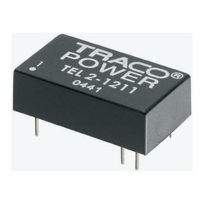 1 x TRACOPOWER, Vout ±15V dc Isolated DC-DC Converter TEL 2-4823, Vin 36-72V dc