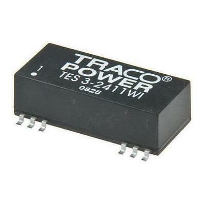 1 x TRACOPOWER, Vout 15V dc Isolated DC-DC Converter TES 3-4813WI, Vin 18-75V dc