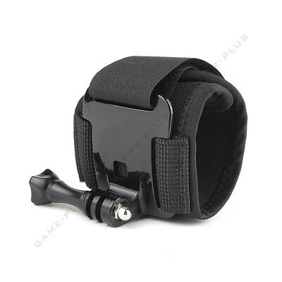 Wrist Strap Mount Adjustable Band w/ Thumb Screw for GoPro Hero 3 3+ 4 Session 5