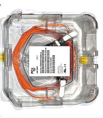 new blister AOC QSFP CABLE QSFP ACTIVE 10 METERS  ICD040GVP163D-10 Orange