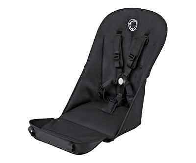 New Bugaboo Cameleon3 Stroller Seat Fabric Button 5Point Harness Black Grey Blue
