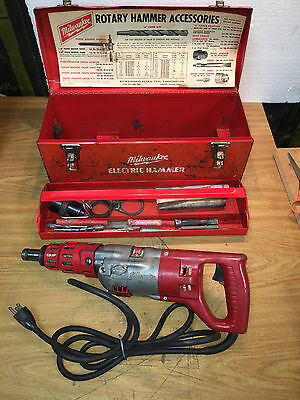 MILWAUKEE 5351 Heavy Duty 3/4 Rotary Hammer Drill    F2
