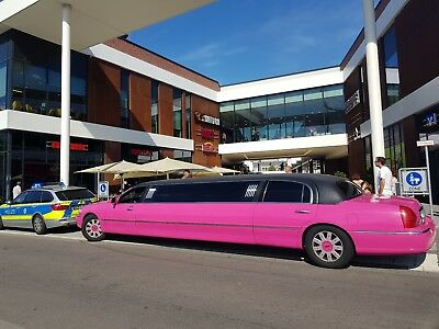 Limo Pink Limousine Stretchlimousine Mieten Party junggesellinnenabschied Ladys