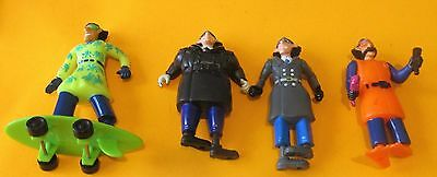 Burger King 1991 Kids Club Inspector Gadget - X 4 Figures