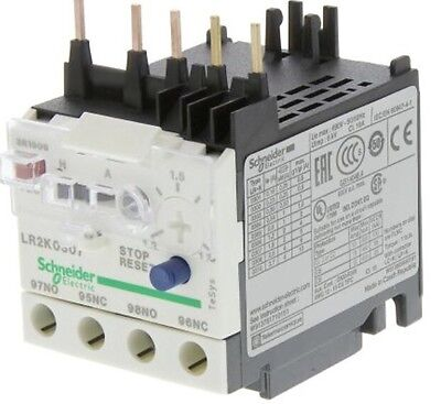Schneider Electric LR2 K0307 Thermal Overload Relay 1.2-1.8A 3 Pole TeSys 023043