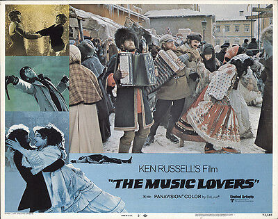 The Music Lovers 1970 Original Movie Poster Biography Comedy Drama