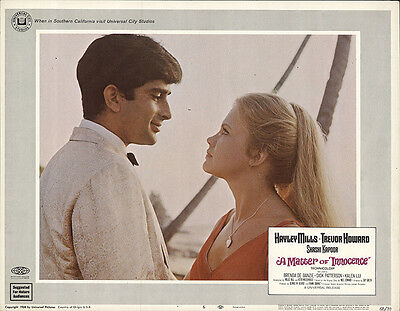 A Matter of Innocence 1968 Original Movie Poster Comedy Drama Romance