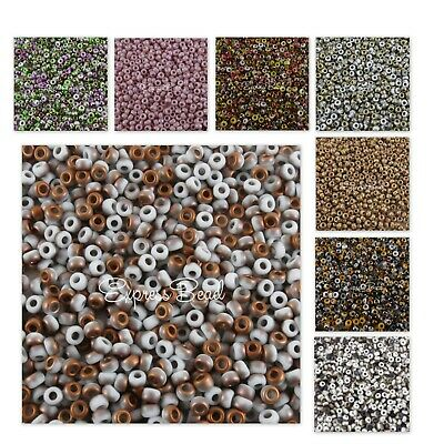 UNIONS 8/0 Miyuki & Czech Seed Beads Round Rocailles 22 Gr WHITE OPAQUE/402