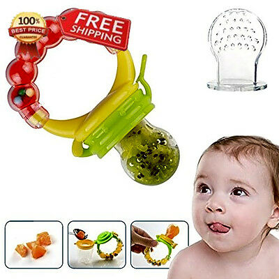 Baby Feeder Pacifier Silicone Sac Teether Nibbler Soother for feeding food with