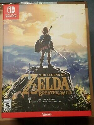 The Legend of Zelda: Breath of the Wild Special Edition for Nintendo Switch