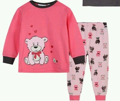 Baby girls pjs size  1