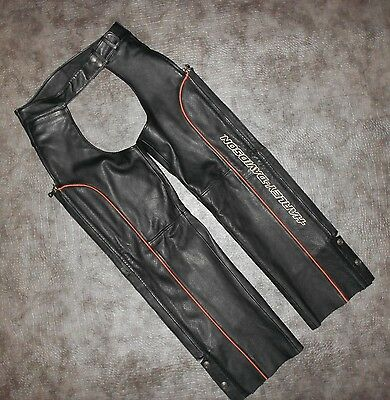 Women's Harley-Davidson SPECIAL EDITION Perforated Leather Chaps size M