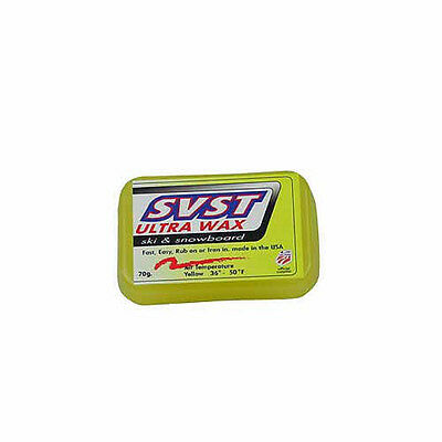 SVST Ultra Ski & Snowboard Wax Warm Temp 70g