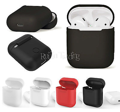 Silicone Shock Proof Protective Cover Case Slim Skin For Apple AirPods Earphones