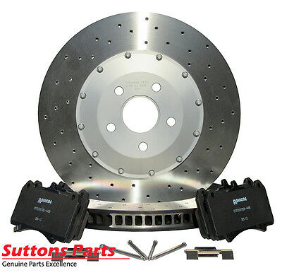 New Genuine Hsv Vf Ap Racing 6 Piston Front Rotor And Pads Kit Part Spz300313