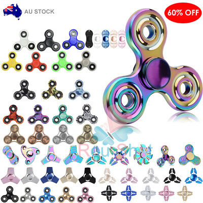Hand Spinner Tri Fidget Tri-Spinner 3D Finger Focus Toy For Kids/Adult Gift【AU