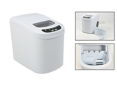 New Ice Cube Maker Machine 2.2L Portable Commercial LCD Automatic Fast Tray Home