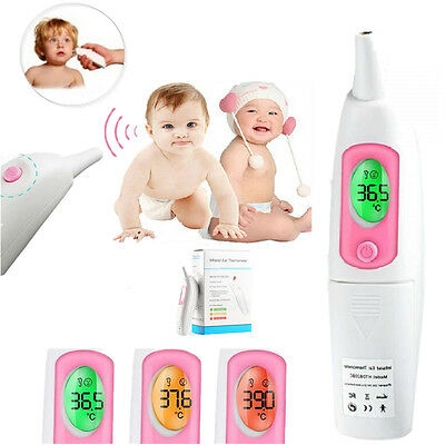 Infrarot-Thermometer Baby Erwachsene Digital Portable LCD Ohr  Body Temperature
