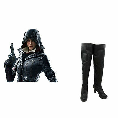 Assassin's Creed Syndicate Evie Frye cosplay costume cosplay boots Custom-Made