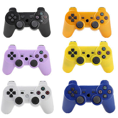 Bluetooth Wireless Game Controller Joystick for Playstation PS3 Dual Shock 2017