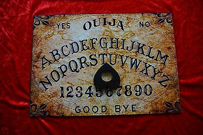 Ouija Board Bizarre Magick Old Worlde & Planchette LARGE A3 With Instructions