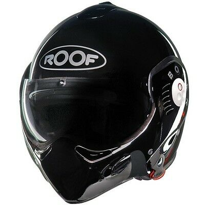 Casque Modulable Roof Boxer V8 Noir Brillant