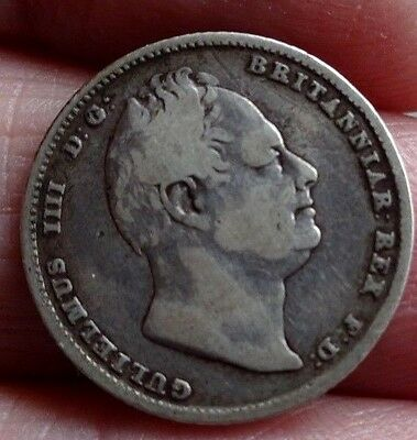 King William IV Silver Sixpence