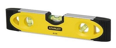Stanley Magnetic Shock Resistant Torpedo Level 230 mm 9""