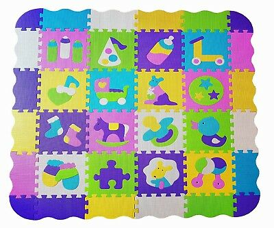Baby play activity mat gym Big 36pcs