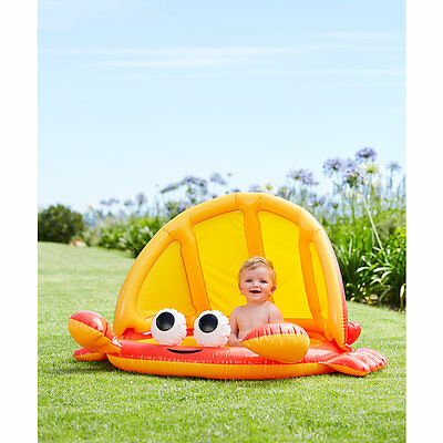 New ELC Boys and Girls Crab Baby Shade Pool Toy From 1 year