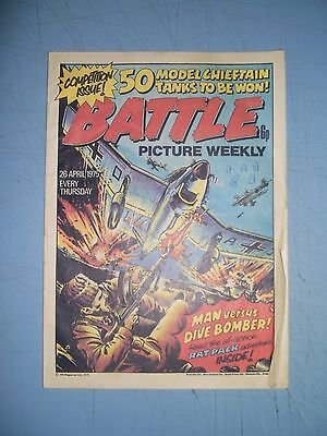 Battle Picture Weekly issue dated April 26 1975