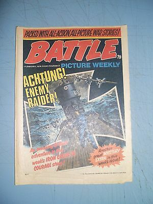 Battle Picture Weekly issue dated January 17 1976