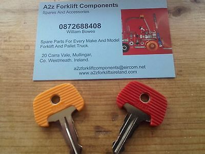XX Original Jungh 701 &  702   Forklift  Keys  As In Photo Not Cheap Copy