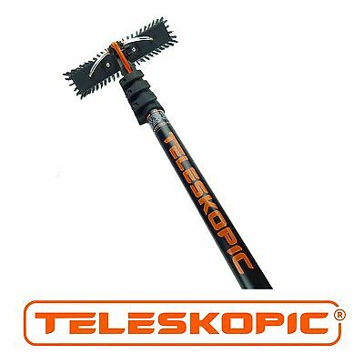 14ft/18ft/22ft Window Cleaning Water Fed Pole TELESKOPIC AL-14/18/22
