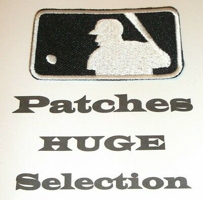 Major League Baseball MLB Patch~Embroidered & Applique~Iron or Sew~Ships FREE~US