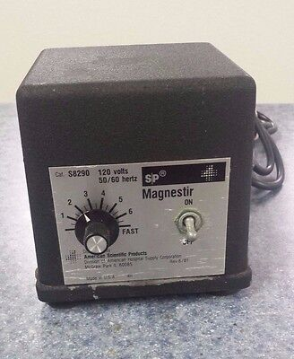 American Scientific Products Magnestir #S8290 120V *USED* Tested, Works