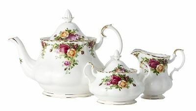 Royal Albert - Old Country Roses Fine Bone China 3 Piece Tea Set