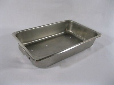 Instrument Tray, Perforated , Stainless Steel- 10 x 6-3/4 x 2-1/4