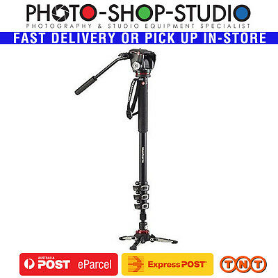 Manfrotto Video Monopod Aluminium Kit MVMXPROA42W (2 Way Head)