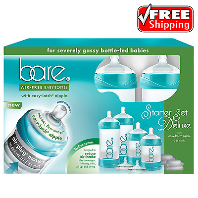 BARE Air-Free Starter Set With Easy-Latch Nipples Air-free Anti Reflux Anticolic