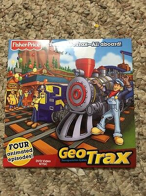 "NISP ""Team GeoTrax - All Aboard!"" DVD with 4 Animated Episodes!"
