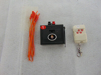 1CH Fireworks firing system Music Remote Controller Electric Igniter copper wire