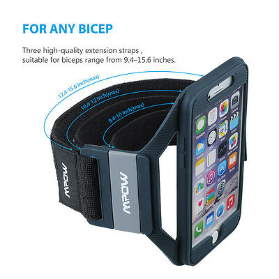 Mpow Gym Armband Case Cover Sports Running Arm band Holder Pouch for iPhone 6S