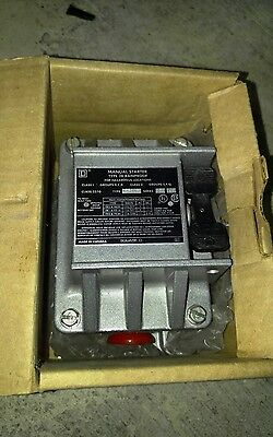 New Square D 2510Fr1 Manual Motor Starter Nema 7 & 9