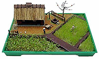 Microace 1/100 Miniature Garden series No.01 FARMERS from Japan