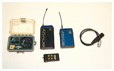 Audio Envoy Wireless ENG set with VT506 Mini Lavelier